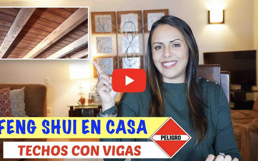 FENG SHUI EN TECHOS CON VIGAS E INCLINADOS
